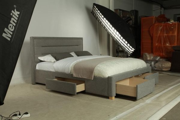 Doppelbett Bett Lattenrost Bettkasten Stauraum Sperr Holz In