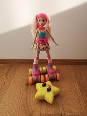 Barbie Mattel Videospiel-Heldin Rollschuhläufer