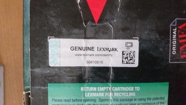 Lexmark Toner Cartridge NEU zu