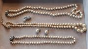 Modeschmuck Perlenketten