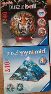 Ravensburger Puzzleball Tiger Puzzlepyramide Meerestiere