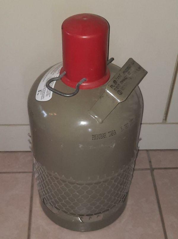 5 kg Propangasflasche Eigentumsflasche mit
