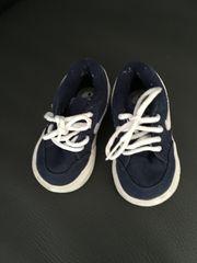 dunkelblaue Nike-Sneakers Gr 18 5