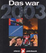 Buch Stern-Jahrbuch - Das war 2003