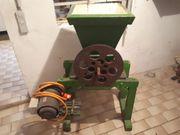 Obstmühle mit Elektromotor