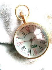 railway clock antik 17 juwelen