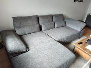 Musterring Eckcouch Sofa mit Recamiere