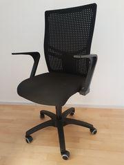 Bürostuhl schwarz