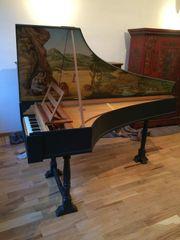 Italienisches Cembalo - clavicembalo italiano - clavecin