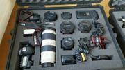 Canon Set mit Kamera 5d