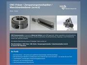 CNC-Fräser Zerspanungsmechaniker Maschinenbediener m w