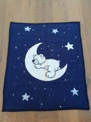 Dickere Decke Kuze mit Bär-Mond-Motiv