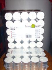 1600 Teelichter