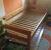 Kinderbett Jugendbett - Vollholz - 200x90 cm