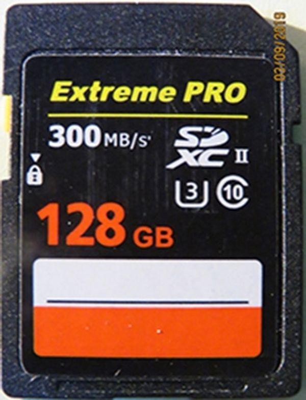 SD Speicherkarte Extreme PRO SDXC
