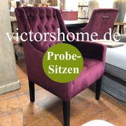 Polsterstuhl Küchenstuhl Esstischstuhl Purpur B