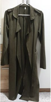 Lederjacke aus Stoff