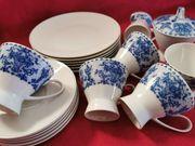 Rosenthal Form 2000 Kaffeeservice Blau-Weiß