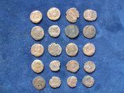 Münzen-Broncemünzen-römisch ca 300 v Ch