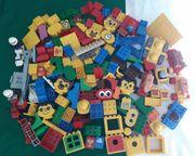 Lego Duplo Bauteile-Sonderteile-Fahrzeuge-Figuren bunt gemischt