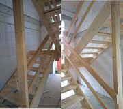 Bautreppe Massivholz zu verkaufen