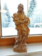 Maria Jesus handgeschnitzt Figur Holz
