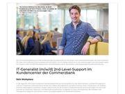 IT-Generalist m w d 2nd-Level-Support