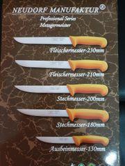 Neu NEUDORF Metzgermesser 5er set