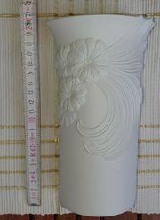 Blumenvase Vase Kaiser - Bisquitporzellan - Oval -