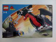 Lego duplo schwarzer Drache