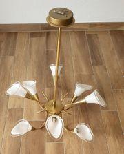 wunderschöne Designerlampe - mundgeblasenes Unikat
