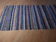 Schöner Handwebteppich aus dem Allgäu