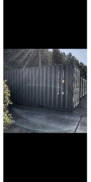 Lagercontainer Lager Storage Lagerfläche Garage