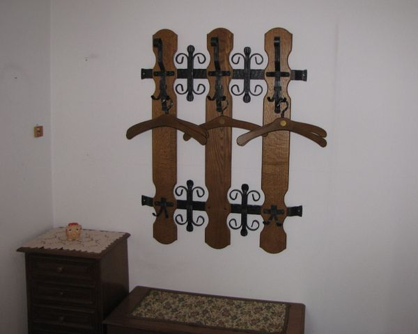 Garderoben Set 4- teilig schmiedeeisern