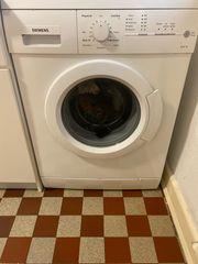 Waschmaschine Siemens funktioniert sehr gut