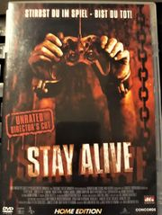 STAY ALIVE HORROR UNRATED DVD