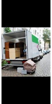 Umzug Umzugshelfer schnell Transport günstige