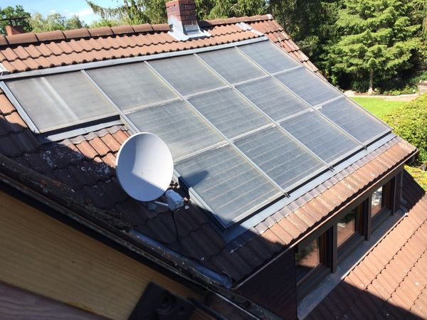 Solar Thermie Anlage