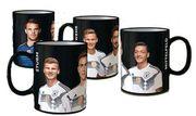 4 DFB Sammeltassen Kaffeebecher FIFA