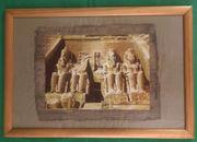 Abu Simbel im Wohnzimmer im
