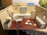 Alte Puppenhaus Küche ca 75