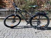 Jungenfahrad schwarz grün