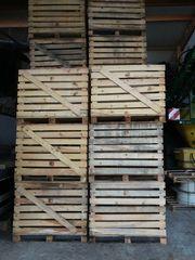 Verkaufe Holzkisten vielerlei einsetzbar für
