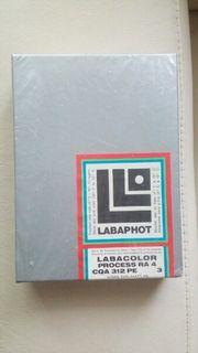Farb-Fotopapier Process RA 4