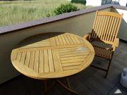 Gartentisch und 3 Stühle