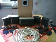 JBL Surround Set Lautsprecherkabel Wandhalter
