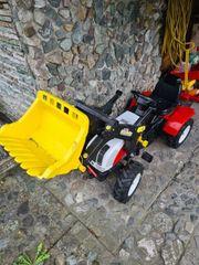 Kindertraktor mit Hänger