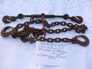 Kette Stahlkette mit 2 Haken