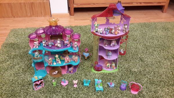 Filly-Palast und Turm mit Bewohner