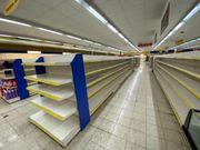 Gondelregal Lebensmittelmarkt Regale Tego gebraucht